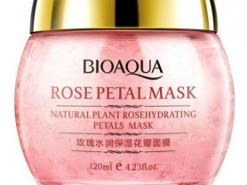 BIOAQUA маска для лица с лепестками роз