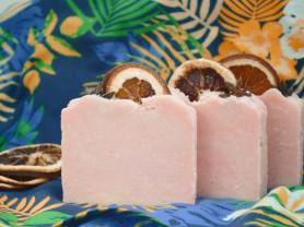 Натуральное мыло с нуля Апельсинка