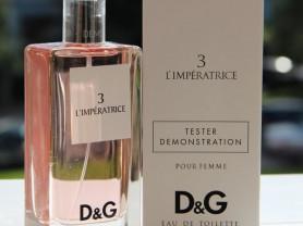 Тестер Dolce Gabbana 3 L Imperatrice 100 ml Новая