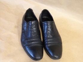 """Мужские кожаные туфли """"Respect"""" б.у"""