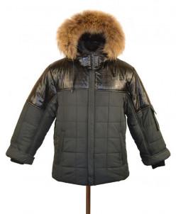 10-0317 Куртка зимняя для мальчика, синтепон 300 гр. Плащевк