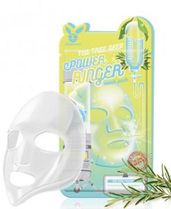 [Elizavecca] Тканевая маска д/лица Чайное Дерево TEA TREE DE