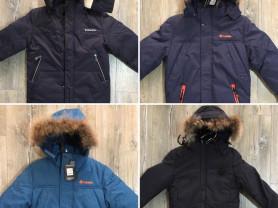 Новые зимние куртки мембрана 134-158