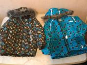 куртка зима Ленне, коричневая