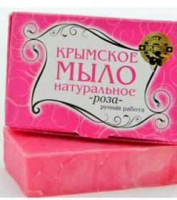 Крымское мыло 50 гр  Роза