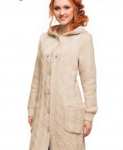 Пальто с капюшоном Алегро М-0546