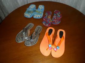 Пляжная летняя обувь на девочку р 30-34