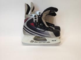 """Детские коньки """"Bauer VII"""", хоккейные, б.у"""