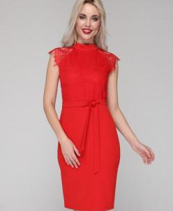 Платье 304 красный