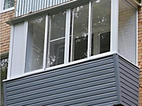 Остекление балконов и лоджий. Установка окон пвх.