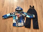 Весенний мембранный костюм комплект для детей