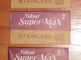Новые оригинальные лезвия Vidyut Super-Max Индия