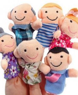 Пальчиковые куклы набор