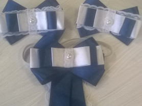 Школьные резиночки и галстук