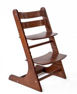 Детский регулируемый стульчик РостОк, цвет орех
