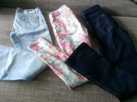 джинсы пакетом