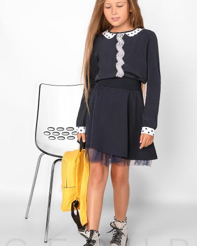 Легкая школьная блуза