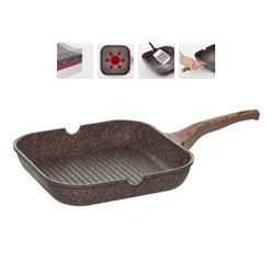 Сковорода-гриль с гранитным антипригарным покрытием Gréta, 2