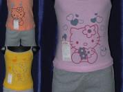 Комплекты китти ( Майка + шорты) Комплект (шорты+м