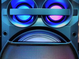 Музыкальная система с подсветкой