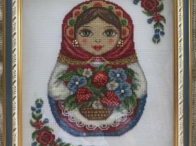 Русская матрёшка (счетный крест)