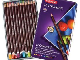 "Набор карандашей цветных Derwent ""Coloursoft"" 12 ш"