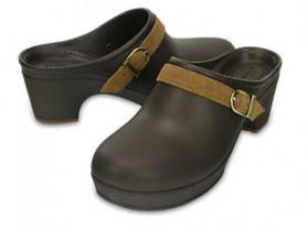 Новые, классические, сабо Crocs, на каблуке