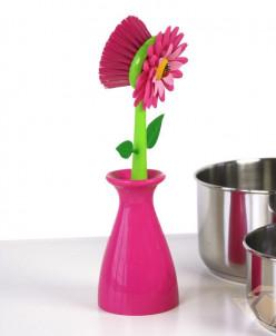 щетка для посуды  FLOWER POWER
