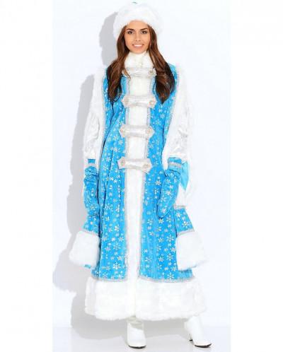 Карнавальный костюм Снегурочка Боярыня (д/взр)