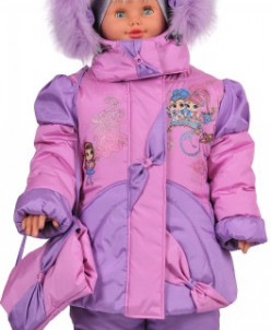 """верхняя одежда для девочки Зимняя модель""""Волшебницы"""""""