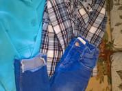 пиджак+рубашка+джинсы