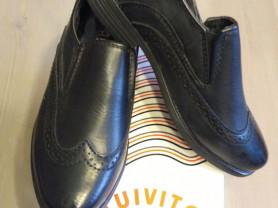 Детские туфли черные к/з р.27, стелька 18,5 см нов