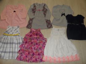 Фирменные платья, сарафаны, туники на 3,5-7 лет