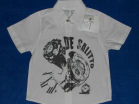 Новая рубашка De Salitto, 98-104 см