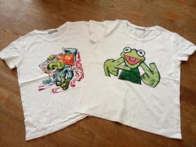 Хлопковые футболки на девочку р 152