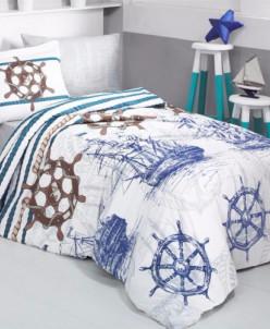 Подростковое постельное белье Ранфорс Clasy - Marine