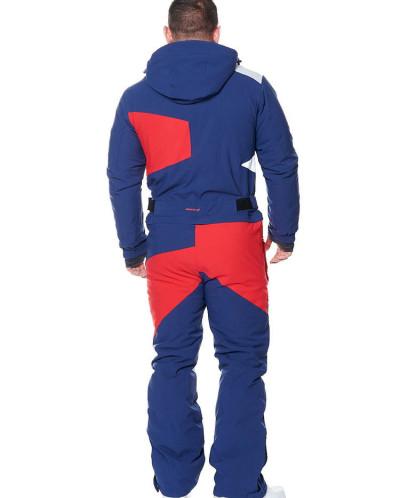 Комбинезон мужской Snow Headquarter A-8826, Сине-красный