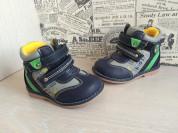 ботиночки демисезонные для мальчиков