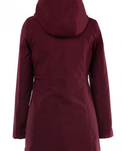04-1927 Куртка демисезонная (синтепон 50) Плащевка Бордо