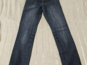 Темно-синие женские джинсы SH.№1 с вышвкой