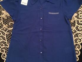 Новая итальянская блузка Gaialuna tg.42, ПОГ 44,5с