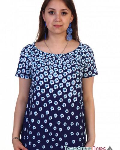 Блузка женская м-439 Ромашка