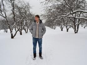 мужская зимняя куртка пуховик