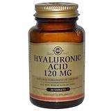 Solgar, Гиалуроновая кислота, 120 мг., 30 таб