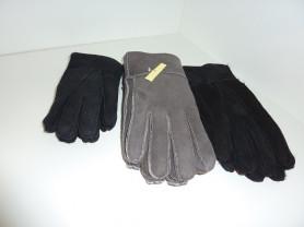 перчатки замшевые  ,внутри с мехом  3 размера