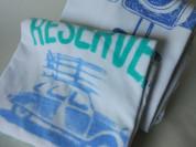 Reserved комплект из 2 футболок б/у, 1,5-3года