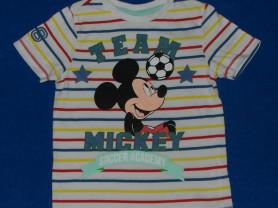 Футболка с коротким рукавом Disney, 104-110 см