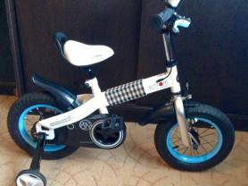 "🚴 Велосипед ""Royal Baby Button Steel""-12 дюймов 🚴"
