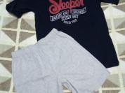 Комплект новый шорты + футболка р.134/140 на 10лет