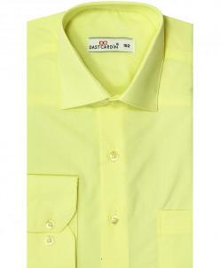 Рубашка для мальчика, Dast cardin, лимон